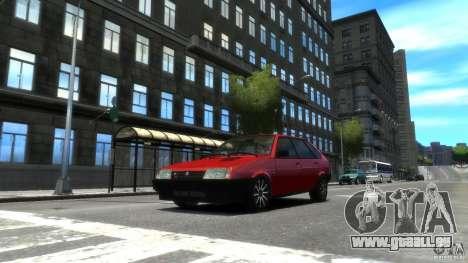 VAZ 2109 léger tuning pour GTA 4