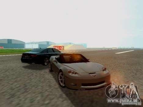 Chevrolet Corvette C6 GS Convertible 2012 pour GTA San Andreas vue de droite