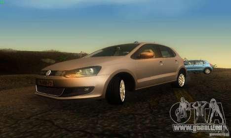 Volkswagen Polo 1.2 TSI pour GTA San Andreas vue de droite