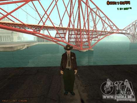Sheriff Departament Skins Pack für GTA San Andreas her Screenshot