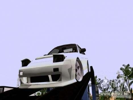 Nissan 240SX (S13) pour GTA San Andreas laissé vue
