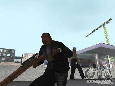 Springfield M1903 für GTA San Andreas fünften Screenshot