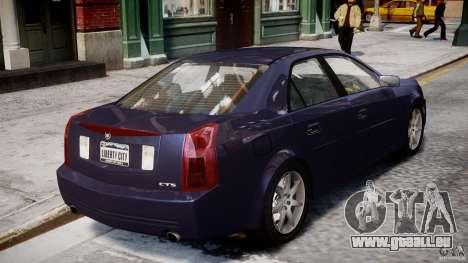 Cadillac CTS für GTA 4 obere Ansicht