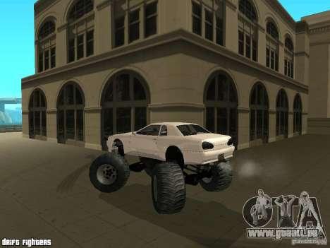 Elegy Monster pour GTA San Andreas vue de côté