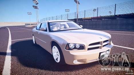 Dodge Charger RT Hemi 2007 Wh 1 für GTA 4 Rückansicht