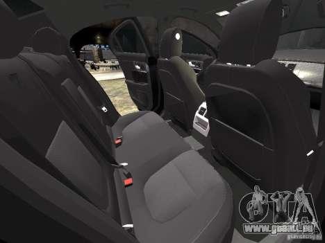 Jaguar XFR pour GTA 4 roues