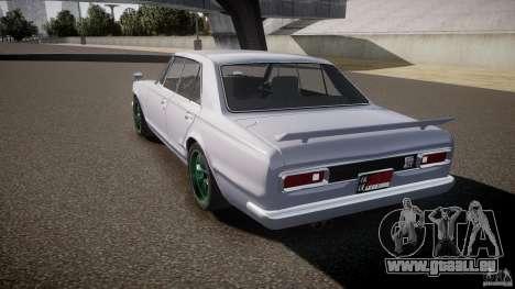 Nissan Skyline GC10 2000 GT v1.1 pour GTA 4 est un côté