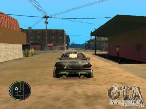 Fantôme vynyl pour Elegy pour GTA San Andreas vue de droite
