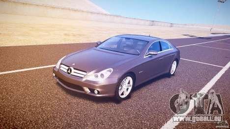 Mercedes-Benz CLS 63 pour GTA 4 est une gauche