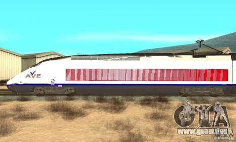 Express Train für GTA San Andreas linke Ansicht