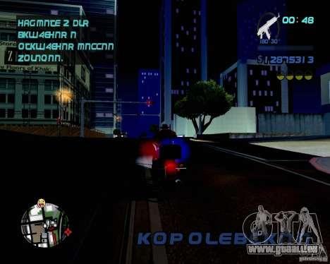 Not ENB pour GTA San Andreas troisième écran
