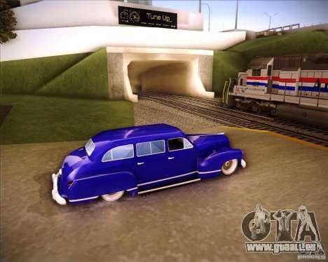 Lissiter 75 für GTA San Andreas linke Ansicht