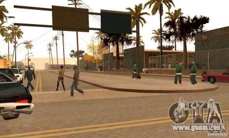 Autumn Mod v3.5Lite pour GTA San Andreas deuxième écran