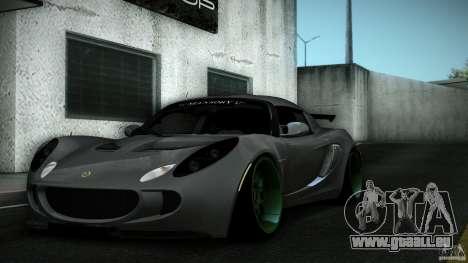Lotus Exige Track Car pour GTA San Andreas moteur