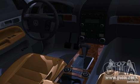 Volkswagen Touareg pour GTA San Andreas vue de côté