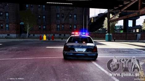 CVPI LCPD San Diego Police Department für GTA 4 rechte Ansicht
