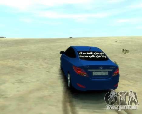 Hyundai Solaris Arab Edition für GTA 4 linke Ansicht