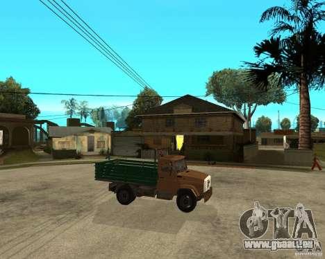 ZIL-433362 Extra Pack 1 pour GTA San Andreas vue de côté