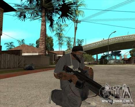 M4 Drum Magazine pour GTA San Andreas deuxième écran