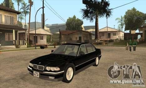 BMW E38 750IL für GTA San Andreas