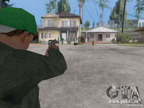 Desert Eagle für GTA San Andreas her Screenshot