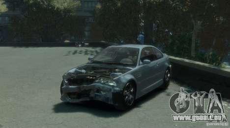 BMW M3 E46 für GTA 4 Seitenansicht