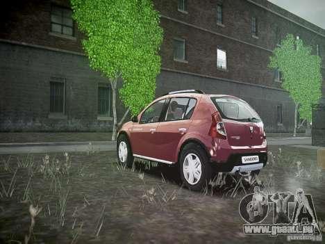 Dacia Sandero Stepway für GTA 4 hinten links Ansicht