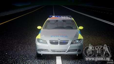BMW 350i Indonesian Police Car [ELS] pour GTA 4 Salon