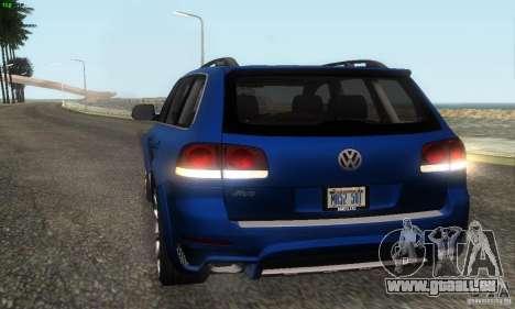 VolksWagen Touareg R50 JE Design Tuning für GTA San Andreas Innenansicht