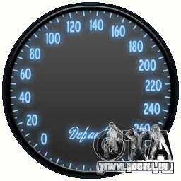 Tachometer IV (6 Skins) für GTA 4