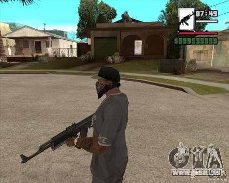 AK47 with GP-30 pour GTA San Andreas deuxième écran