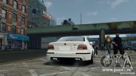 BMW M5 E39 BBC v1.0 für GTA 4 Rückansicht