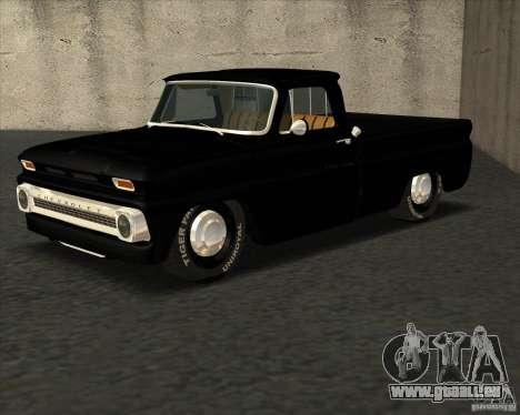Chevrolet C10 1966 Slamvan Pickup Truck pour GTA San Andreas