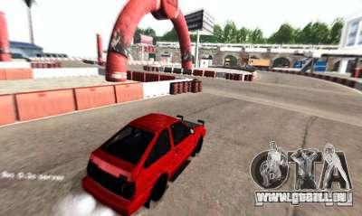 NFS:Shift Drift Tracks für GTA San Andreas