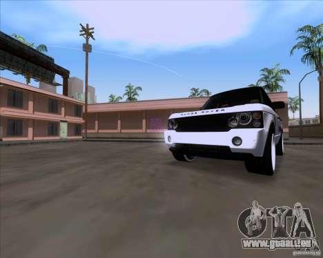 Range Rover Hamann Edition pour GTA San Andreas laissé vue