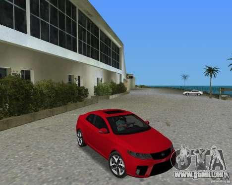 Kia Forte Coupe für GTA Vice City