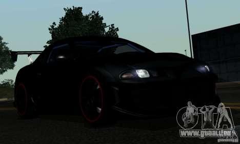 Mitsubishi Eclipse GSX 1999 für GTA San Andreas obere Ansicht