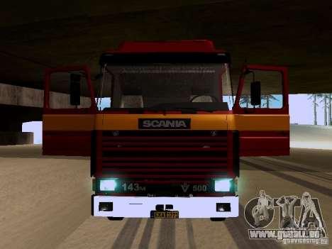 Scania 143M pour GTA San Andreas vue de côté
