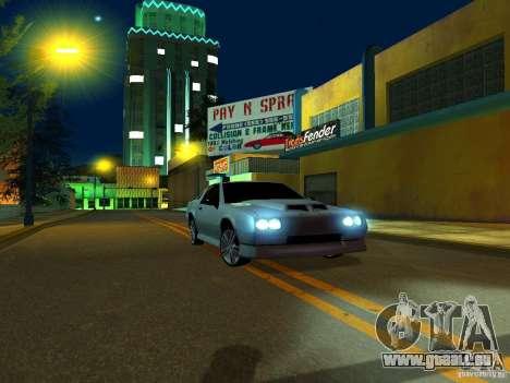 New Buffalo pour GTA San Andreas sur la vue arrière gauche