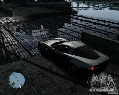 Chevrolet Corvette Grand Sport 2010 für GTA 4 rechte Ansicht