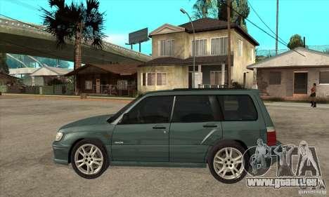 Subaru Forester pour GTA San Andreas laissé vue