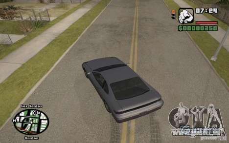 Straßennamen auf dem radar für GTA San Andreas dritten Screenshot