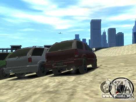 Chevrolet Blazer LS 2dr 4x4 pour GTA 4 Vue arrière