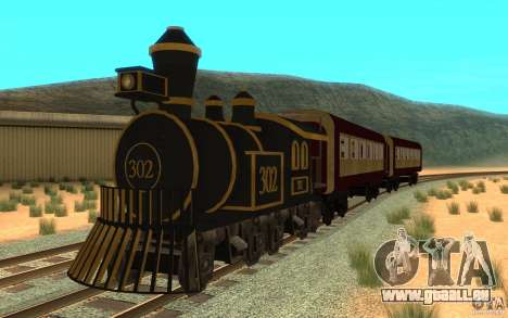 Locomotive für GTA San Andreas