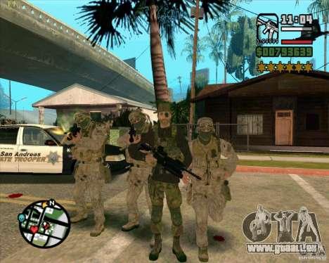 Praice peau de COD 4 pour GTA San Andreas