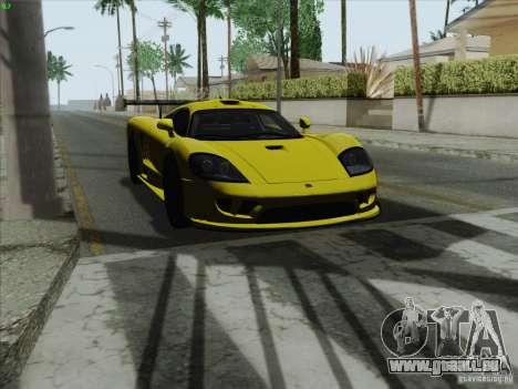 Saleen S7 Twin Turbo Competition Custom pour GTA San Andreas vue de droite