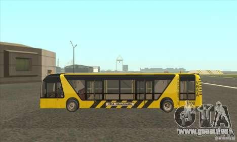 Bus zum Flughafen für GTA San Andreas linke Ansicht