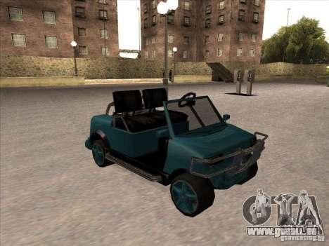 Small Cabrio pour GTA San Andreas