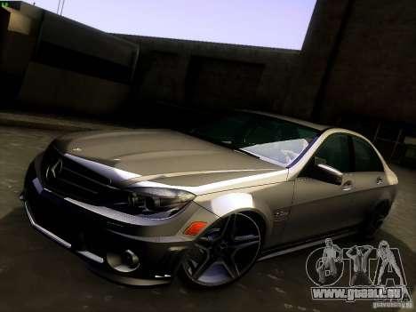 Mercedes-Benz C36 AMG für GTA San Andreas Innen