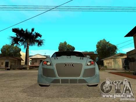 Audi TT 2007 Tuned für GTA San Andreas rechten Ansicht
